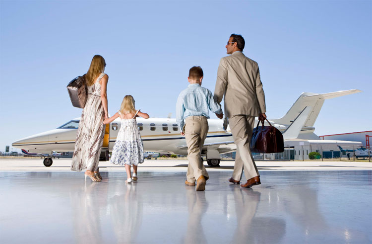 Chartering a Jet for Business or for Pleasure